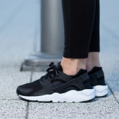 Nike Huarache GS Black/White 654275-011