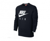 Реглан Nike AW77 Fleece Air Heritage Crew 727385-010