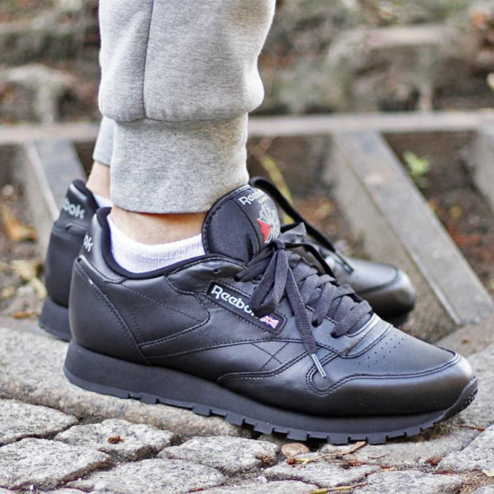 Reebok Classic Leather Black 2267 d922b11ea
